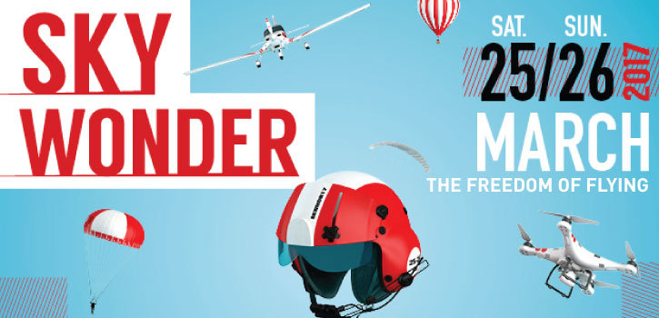 SKYWONDER - 'THE FREEDOM OF FLYING'